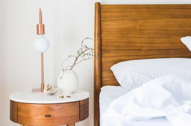 Projekt Pomocny Rama łóżka Drewniane Elementy Anntresola